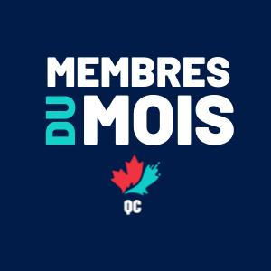 Membre du mois : juin 2021